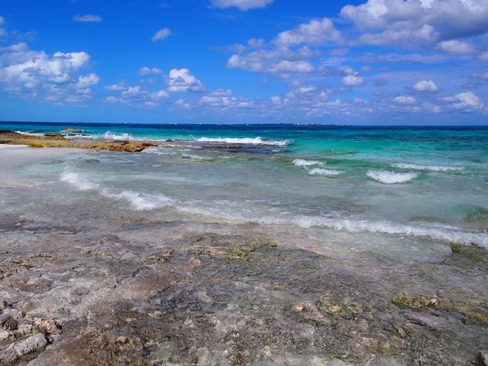 【メキシコ02】まだまだ寒い2月初旬のカンクン・ビーチ。お土産情報も。 (8)