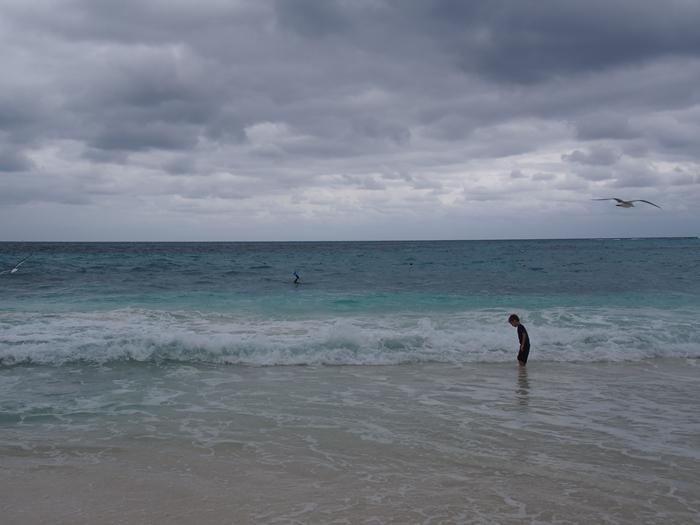 【メキシコ02】まだまだ寒い2月初旬のカンクン・ビーチ。お土産情報も。 (3)