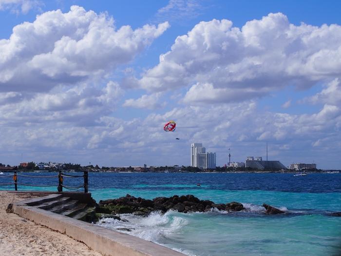 【メキシコ02】まだまだ寒い2月初旬のカンクン・ビーチ。お土産情報も。 (1)