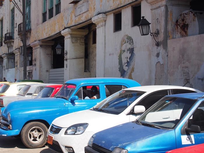 【キューバ03 世界遺産】ヘミングウェイの愛したハバナ。歴史を感じるクラシックカーとコロニアルな町並み~ハバナ観光1~ (32)