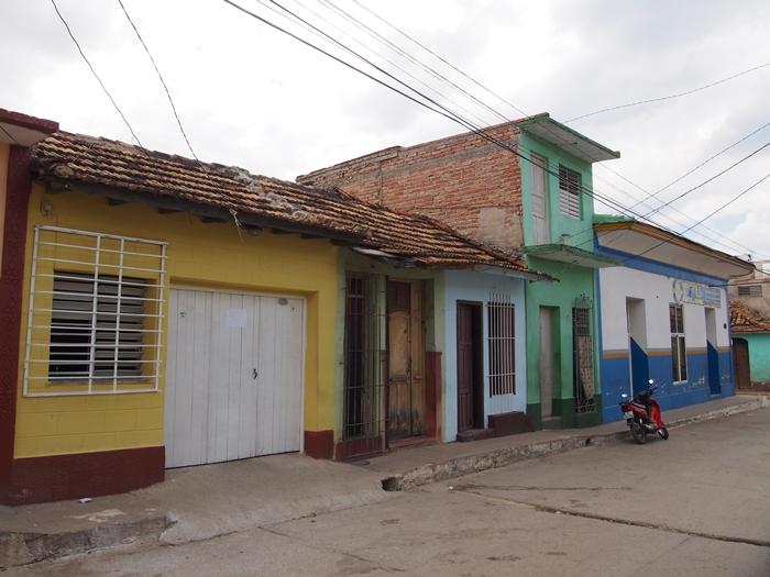 【キューバ07 世界遺産】アートとパステルカラーの建物の町トリニダー。久しぶりの人種差別被害も。。 (14)