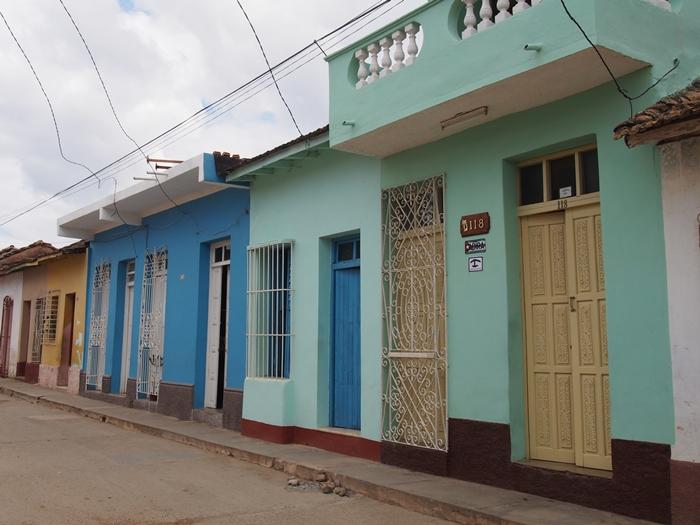 【キューバ07 世界遺産】アートとパステルカラーの建物の町トリニダー。久しぶりの人種差別被害も。。 (15)