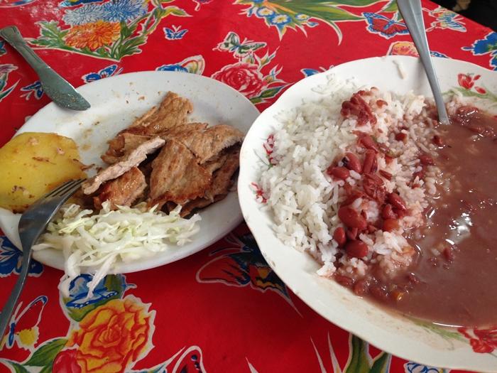 【キューバ14】ハバナで食べた数少ない美味しいもの。。中華レストラン「天壇」 (2)