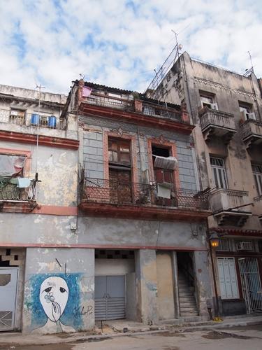【キューバ04 世界遺産】革命の爪痕残るハバナ。革命広場にはチェ・ゲバラの姿~ハバナ観光2~ (16)