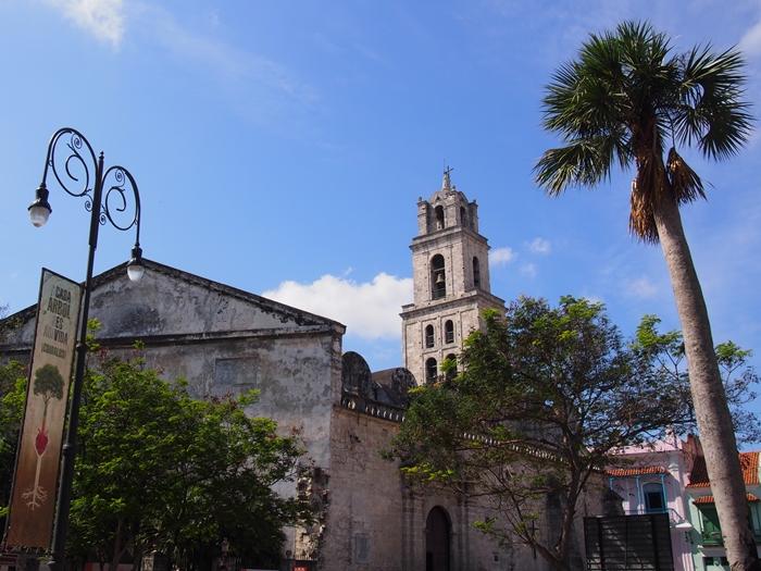 【キューバ04 世界遺産】革命の爪痕残るハバナ。革命広場にはチェ・ゲバラの姿~ハバナ観光2~ (20)