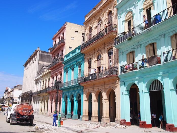 【キューバ04 世界遺産】革命の爪痕残るハバナ。革命広場にはチェ・ゲバラの姿~ハバナ観光2~ (24)