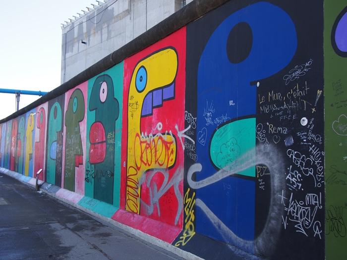 【ドイツ09】冷戦の跡・ベルリンの壁と、個性的なアンペルマン登場!ベルリン観光1 (20)