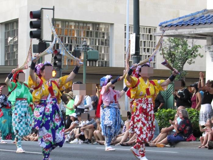 【ハワイ04】日本とハワイの交流イベント、ホノルル・フェスティバルに参加! (16)