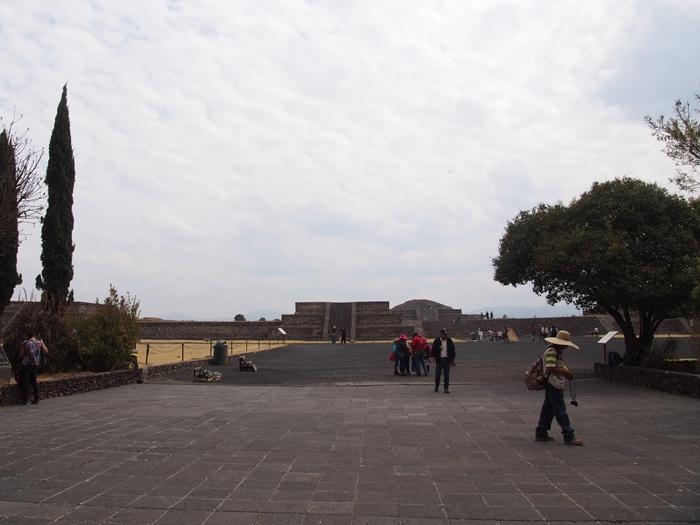 【メキシコ08】世界で三番目?!テオティワカン・太陽のピラミッド (19)