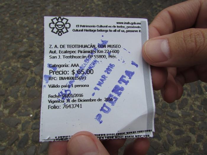 【メキシコ08】世界で三番目?!テオティワカン・太陽のピラミッド (3)