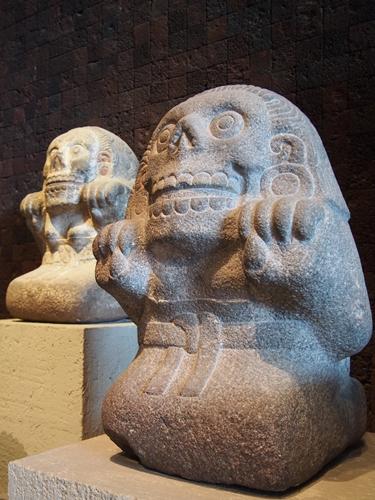 【メキシコ09】人類学博物館でアステカ・カレンダーにご対面! (26)