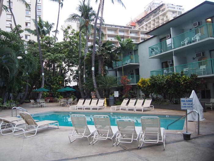 【ハワイ01】ホノルル国際空港からワイキキへの移動と、ワイキキの宿「White Sands Hotel」 (16)