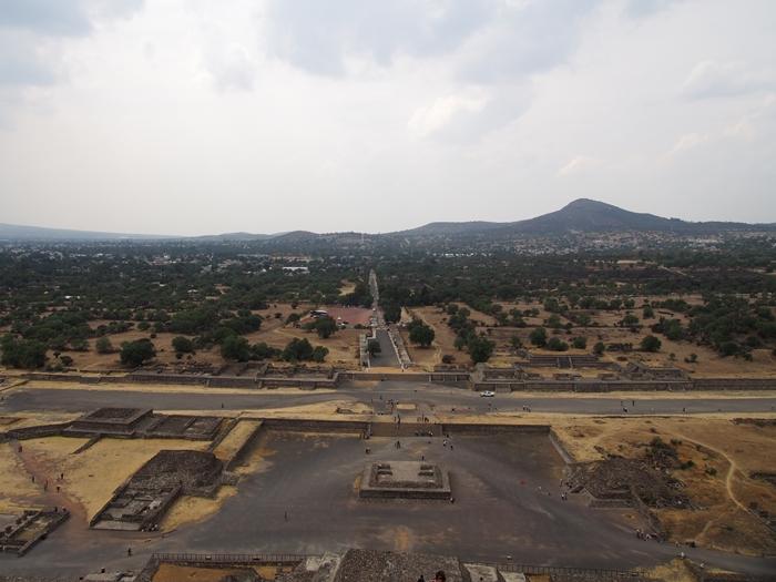 【メキシコ08】世界で三番目?!テオティワカン・太陽のピラミッド (42)