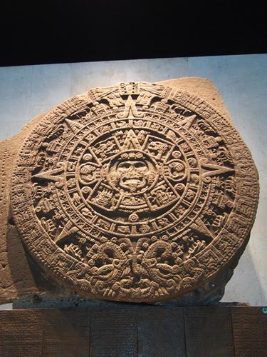 【メキシコ09】人類学博物館でアステカ・カレンダーにご対面! (22)