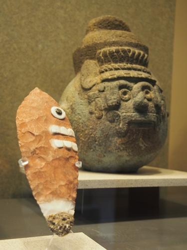 【メキシコ09】人類学博物館でアステカ・カレンダーにご対面! (24)