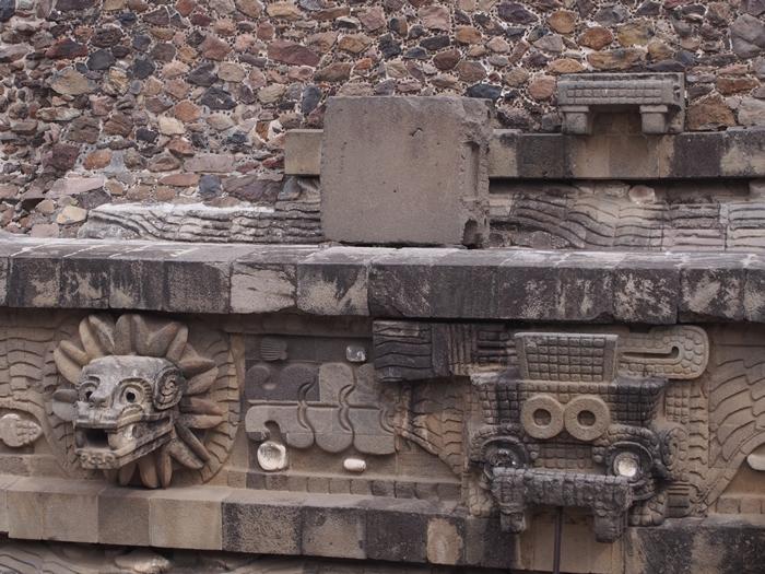 【メキシコ08】世界で三番目?!テオティワカン・太陽のピラミッド (52)