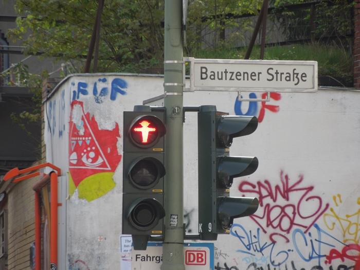 【ドイツ09】冷戦の跡・ベルリンの壁と、個性的なアンペルマン登場!ベルリン観光1 (4)