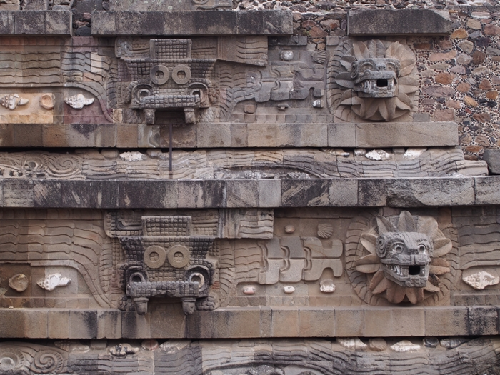 【メキシコ08】世界で三番目?!テオティワカン・太陽のピラミッド (46)