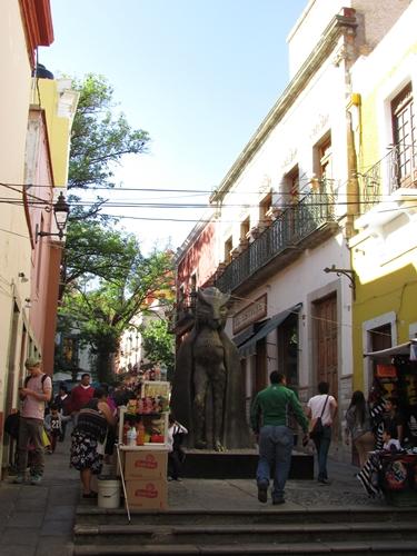 【メキシコ12】その美しさ、メキシコNo.1!コロニアル都市グアナファト (1)