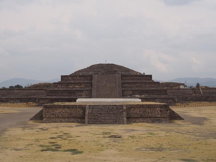 【メキシコ08】世界で三番目?!テオティワカン・太陽のピラミッド (44)