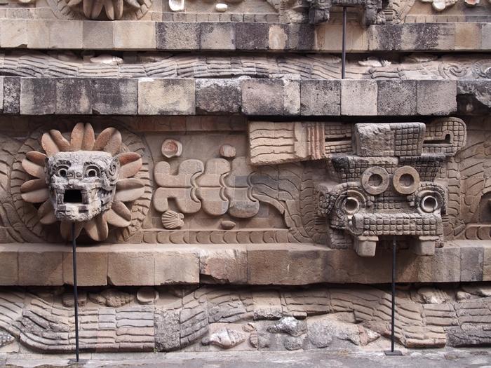 【メキシコ08】世界で三番目?!テオティワカン・太陽のピラミッド (49)