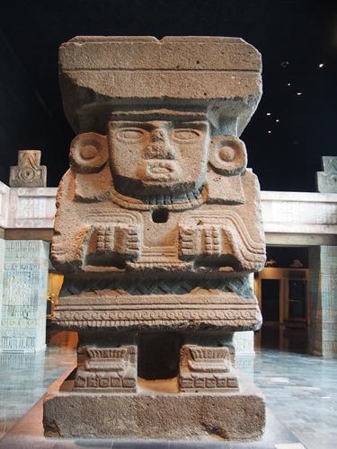 【メキシコ09】人類学博物館でアステカ・カレンダーにご対面! (13)