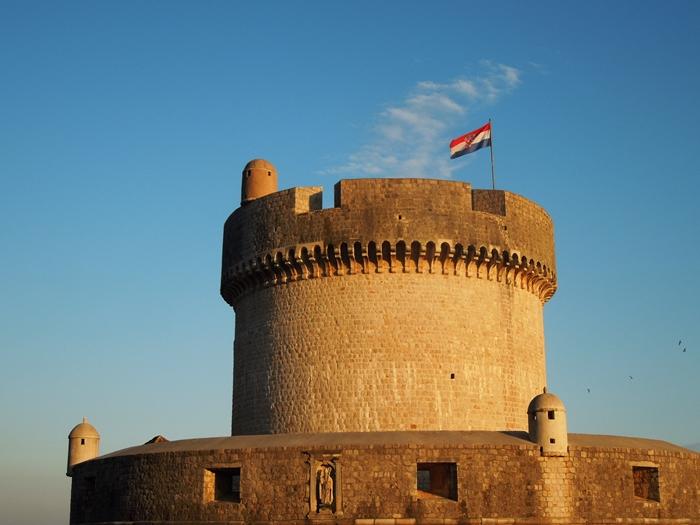 【クロアチア06】青い海とオレンジ色の屋根…ジブリのモデル、ドゥブロヴニク観光2 (3)
