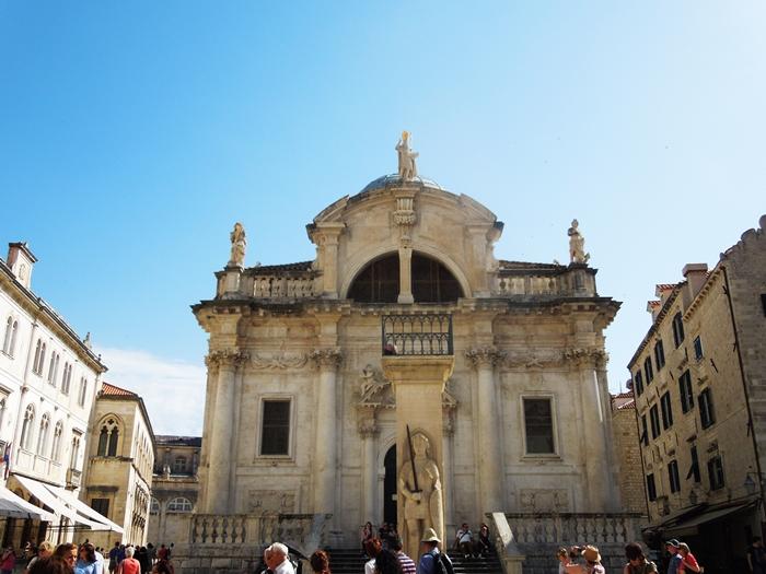 【クロアチア05】アドリア海の真珠!世界遺産の城塞都市ドゥブロヴニク観光Part1 (12)