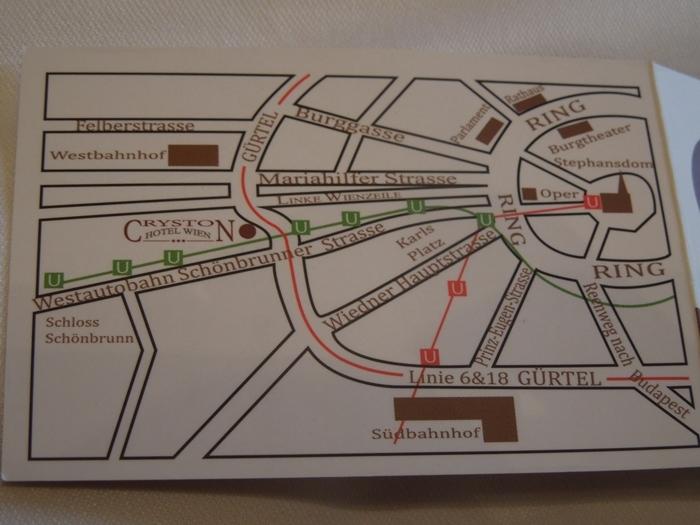 18【オーストリア01】プラハチェコからウィーンオーストリアへのバス移動と、ウィーンの安宿「Hotel CRYSTON」 (6)