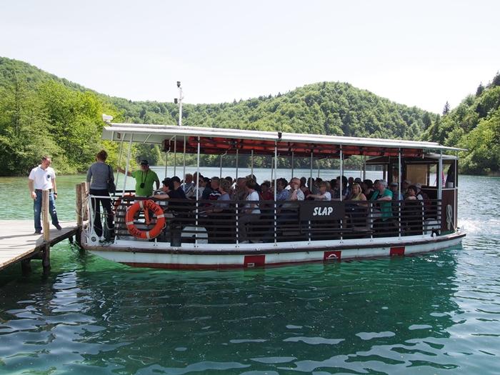 【クロアチア03】青と緑の美しいコントラスト。。世界遺産プリトヴィッツェ湖群国立公園 (7)