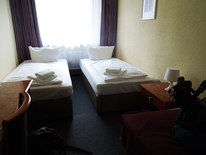 【ドイツ13】ベルリンの安宿「HOTEL AMADEUS CENTRAL」
