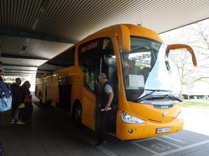 【チェコ01】ベルリンドイツからプラハチェコへのバス移動情報 (2)