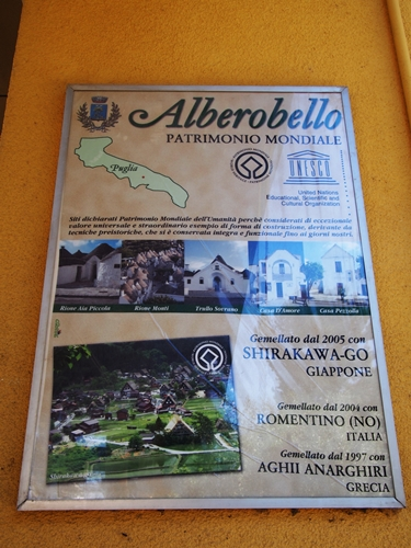 【イタリア02】イタリア上陸!まずはトンガリ屋根の世界遺産アルベロベッロ! (1)