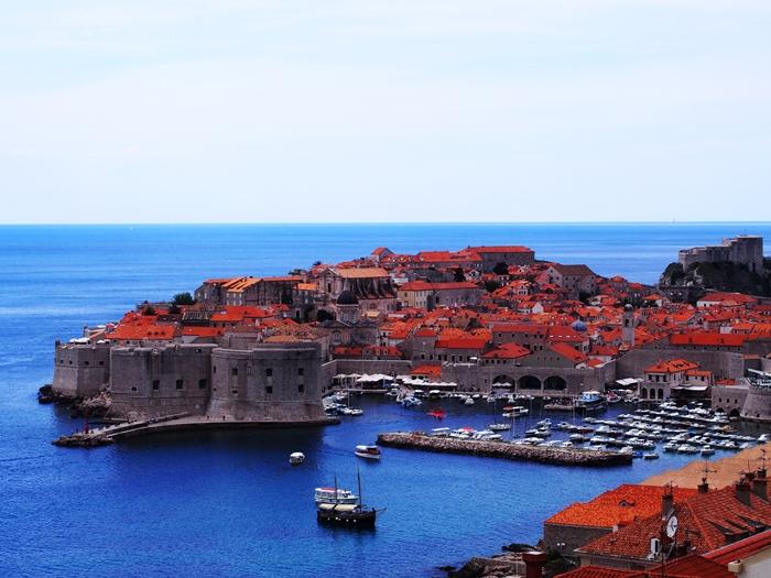 【クロアチア06】青い海とオレンジ色の屋根…ジブリのモデル、ドゥブロヴニク観光2 (25)