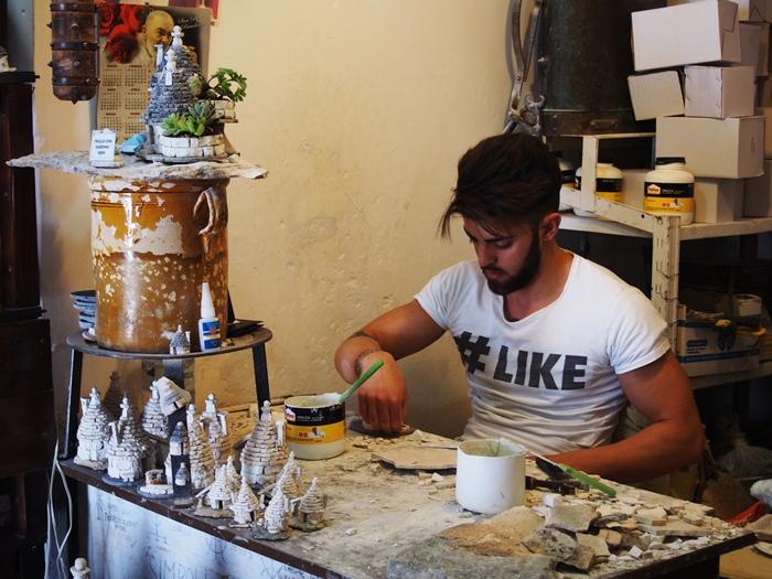 【イタリア02】イタリア上陸!まずはトンガリ屋根の世界遺産アルベロベッロ! (17)