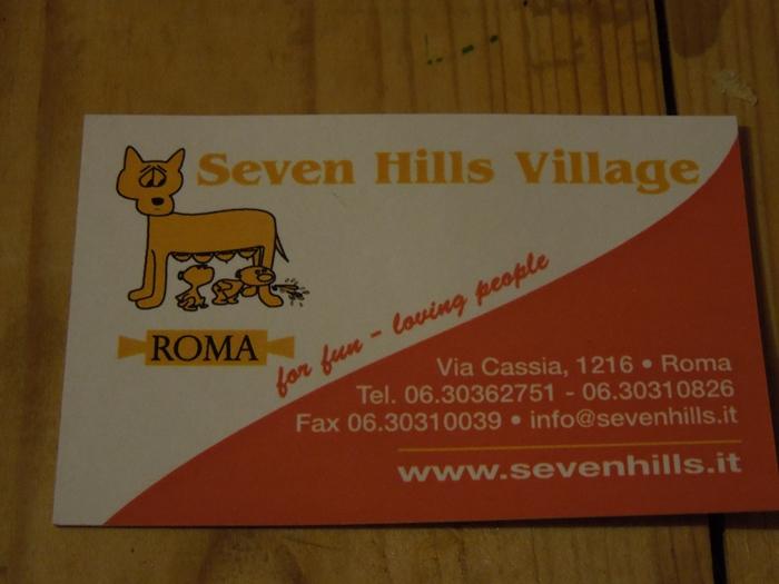 【イタリア09】ナポリからローマへの移動と、ローマの激安宿「Seven Hills Village 18-35's」 (3)