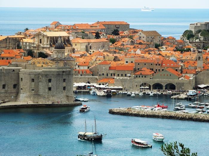 【クロアチア06】青い海とオレンジ色の屋根…ジブリのモデル、ドゥブロヴニク観光2 (10)