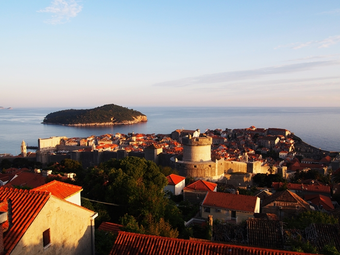 【クロアチア06】青い海とオレンジ色の屋根…ジブリのモデル、ドゥブロヴニク観光2 (13)