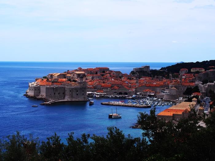 【クロアチア06】青い海とオレンジ色の屋根…ジブリのモデル、ドゥブロヴニク観光2 (26)