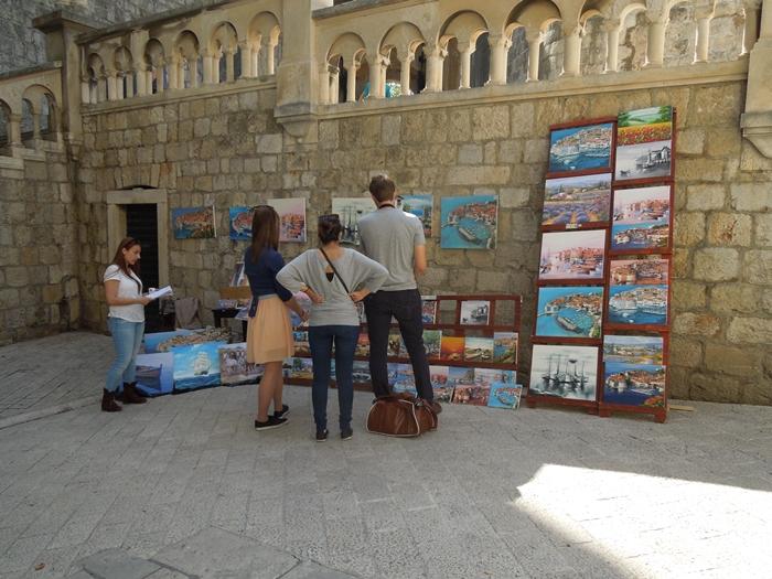 【クロアチア05】アドリア海の真珠!世界遺産の城塞都市ドゥブロヴニク観光Part1 (5)