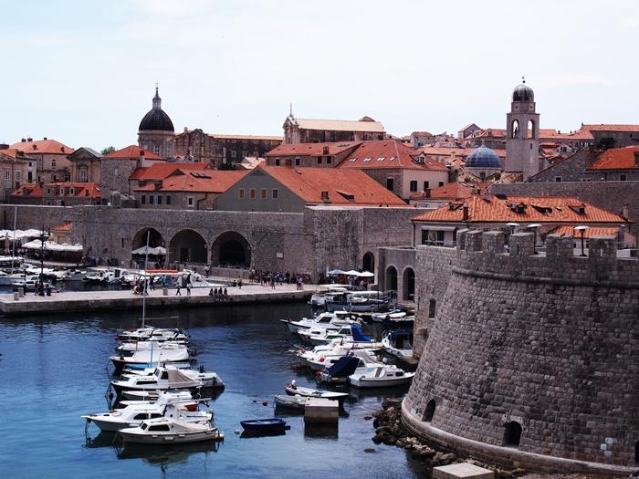 【クロアチア06】青い海とオレンジ色の屋根…ジブリのモデル、ドゥブロヴニク観光2 (27)