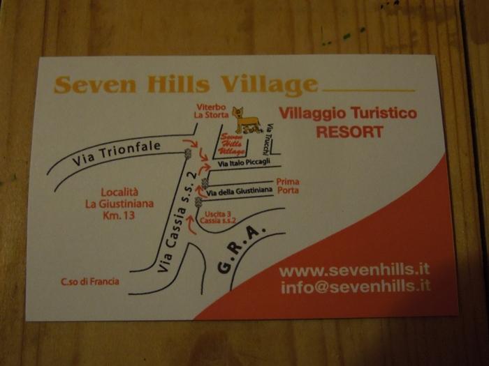 【イタリア09】ナポリからローマへの移動と、ローマの激安宿「Seven Hills Village 18-35's」 (4)