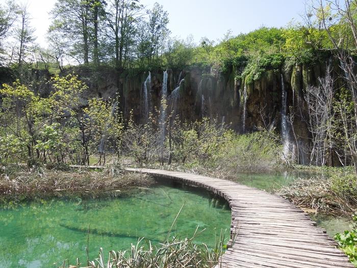 【クロアチア03】青と緑の美しいコントラスト。。世界遺産プリトヴィッツェ湖群国立公園 (6)