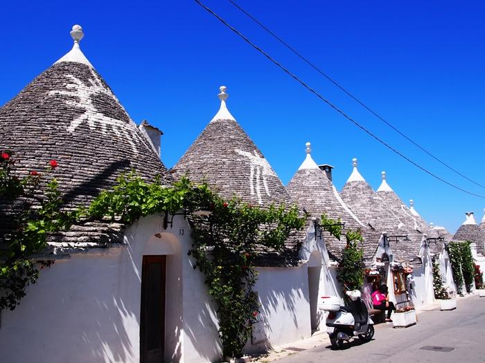 【イタリア02】イタリア上陸!まずはトンガリ屋根の世界遺産アルベロベッロ! (20)