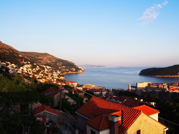 【クロアチア06】青い海とオレンジ色の屋根…ジブリのモデル、ドゥブロヴニク観光2 (14)