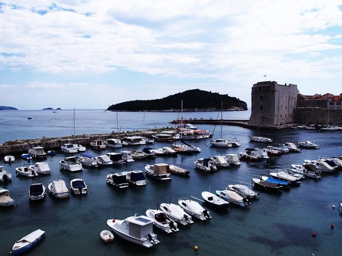 【クロアチア05】アドリア海の真珠!世界遺産の城塞都市ドゥブロヴニク観光Part1 (44)