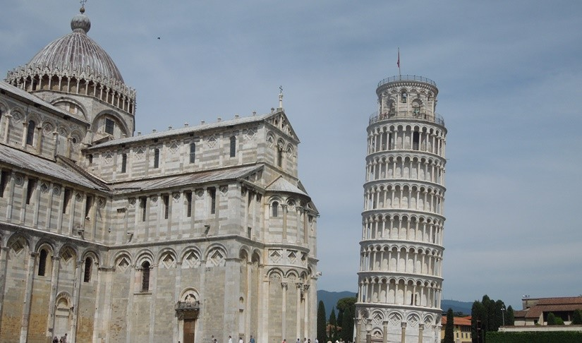 【イタリア14】フィレンツェから日帰りでピサの斜塔を観光♪
