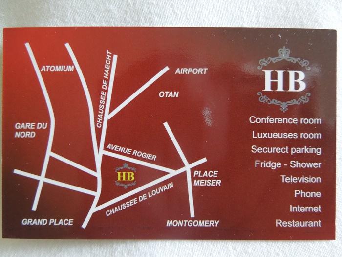 【ベルギー03】ブリュッセルの安宿情報「Hotel Bentley」 (1)