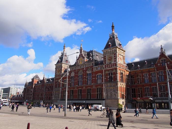 【オランダ02】見どころ盛りだくさんな水の都アムステルダム街歩き!