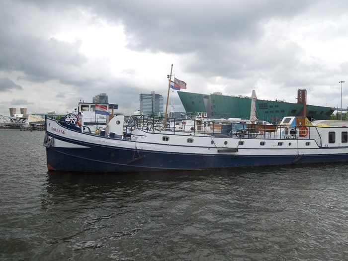 【オランダ04】アムステルダムの安宿情報 おススメは船に泊まれるNoorderzon! (1)